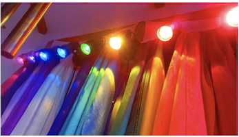Tama-Do Academy's Chakra Lights for Color Therapy® empower and energize the 8 chakras. We use our Tama-Do Chakra Lights to enhance the power of sound.