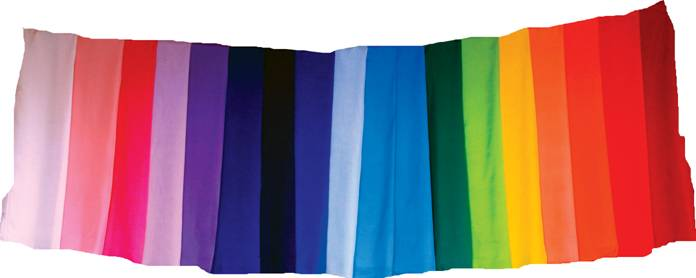Terres Unsoeld's Rainbow Color Silks®