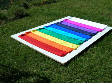 Rainbow Color Silks