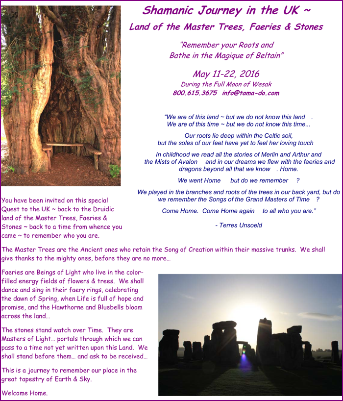 Shamanic Journeys UK